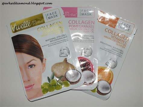 Felinz Mask Nourishing Isi 2 sparks of product review vivelle mask collagen