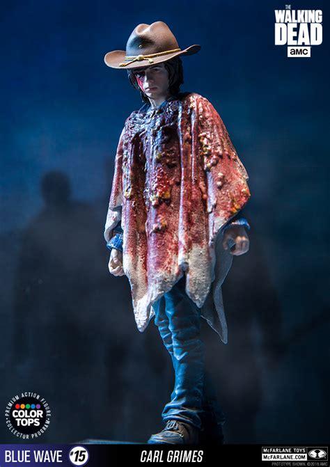 Mcfarlane Color Tops Madigan color tops walking dead tv series carl grimes