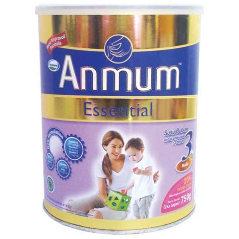 Anmum Essential 3 750gr hypermart anmum essential 3 honey tin 750gr