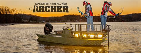 bowfishing boat build 2017 roughneck 1860 archer bowfishing and bow fish lowe