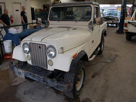2 5l Jeep Engine For Sale 1981 Jeep Scrambler 4wd 99 999 White 4 Cylinder