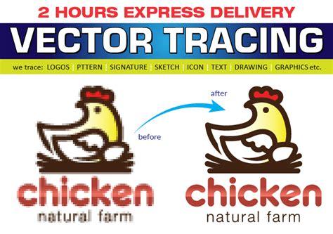 vector tracing redraw logo  aiepssvgpngpdf