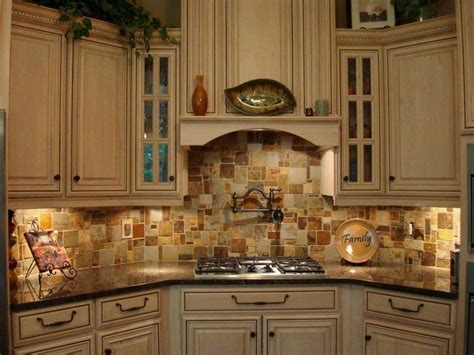 14 unique kitchen tile backsplash ideas page 2 of 2 travertine slate mosaic random tile kitchen backsplash