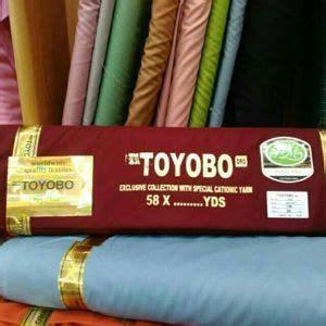 Bahan Kain Toyobo fitinline membedakan kain katun toyobo dan kain katun