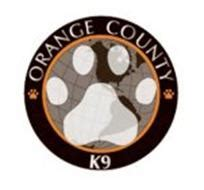 Orange County Number Search Orange County K9 Trademark Of Orange County K9 Inc Serial Number 77169125