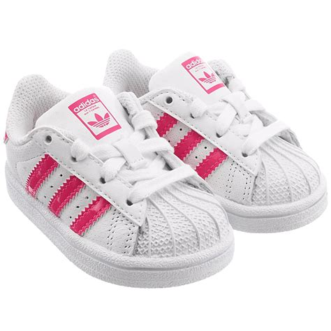 adidas superstar  baby shoes  top sneakers white