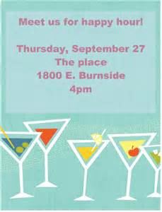 happy hour sign template printable event and promotion signs xerox for small
