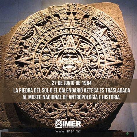 Como Leer El Calendario Azteca Azteca Historiacalendario Pictures To Pin On