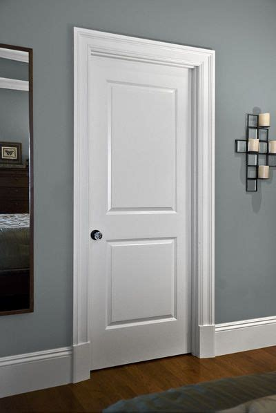 Trim Interior Door Clean Simple Interior Door Trim And Mouldings My Home My Own Door