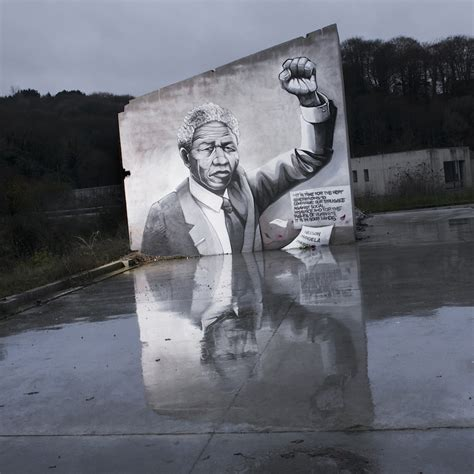 a tribute to nelson mandela street art utopia 187 we declare the world as our canvas