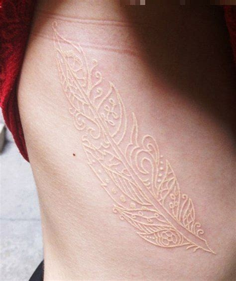 60 ideas for white ink tattoos art and design