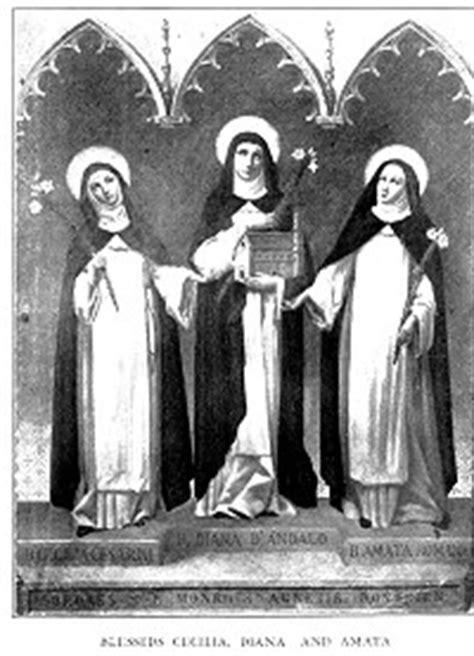 Bl Cacilia blessed diana and blessed cecilia communio