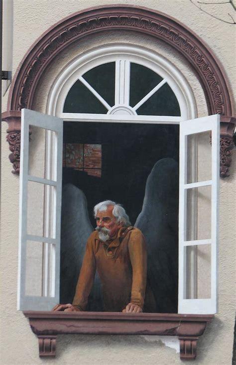 downtown frederick angel mural    frescos