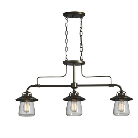 Pendant Island Lighting Edison Light Fixtures Lowes Iron