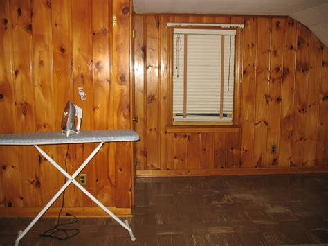 what to do with wood paneling our diy room is finally finished 171 the penny frugalista