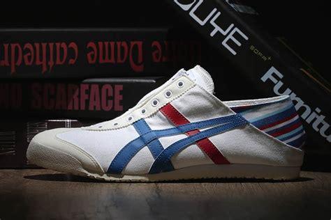 Onitsuka Tiger Mexico 66 Dx Black White white blue onitsuka tiger mexico 66 slip on shoes