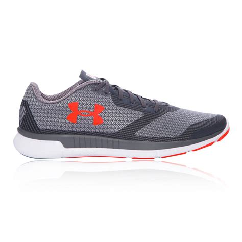 armour athletic shoes armour charged lightning mens grey running sports