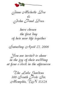 poetic wedding invitation wording exles wedding invitation wording sles