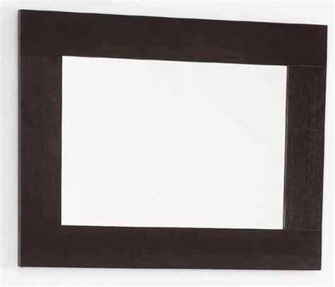 wenge bathroom mirror wenge bathroom mirror size 500x450mm davinci q 7079awe