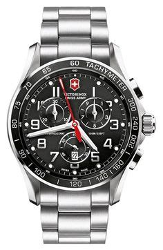 Swiss Army Chrono Look Blue seiko s snkm95 quot exclusive quot stainless steel