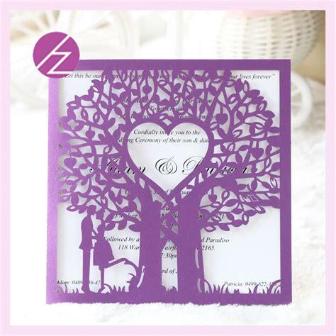 Sale Undangan Pernikahan Kartu Undangan Jago 02 aliexpress buy 12pcs lot and sweet wedding invitation card printing tree and