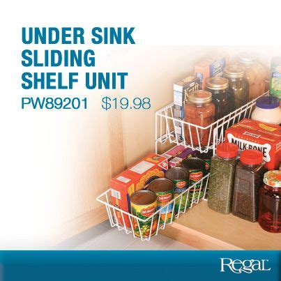 Sink Sliding Shelf Unit 77 best images about regal gifts kitchen on