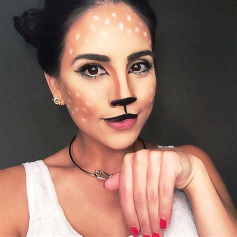 lovely deer halloween makeup ideas   instaloverz