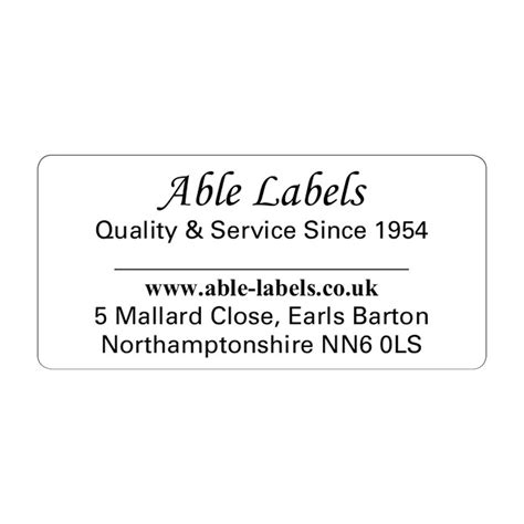 design your own label uk design your own cut labels white able labels