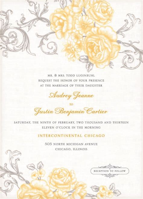 free wedding invitation templates for microsoft word with wedding