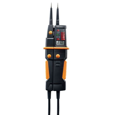 to testo voltage tester voltage electrical parameters testo