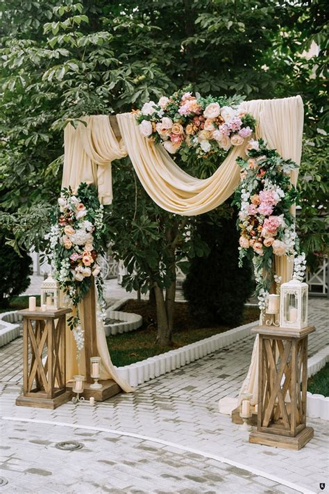 25 inspirational wedding ceremony arbor arch ideas elegantweddinginvites