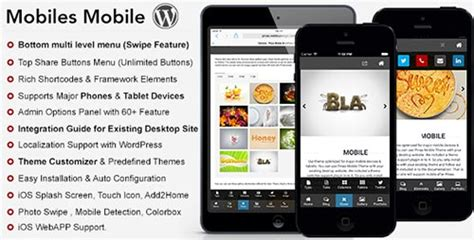 mobile themes watch 45 best wordpress mobile themes templates