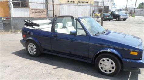 how to sell used cars 1993 volkswagen cabriolet auto manual purchase used 1993 volkswagon cabriolet collectors edition convertible in philadelphia
