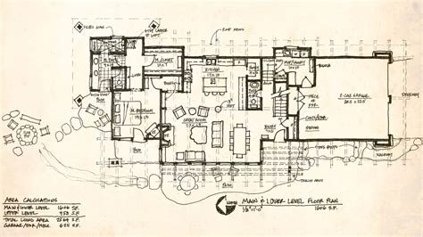 mountain lodge floor plans mountain architects hendricks architecture idaho modern