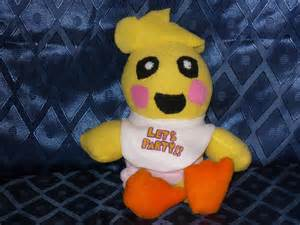 Fnaf toy chica plush by vickyj on deviantart fnaf plushies for sale