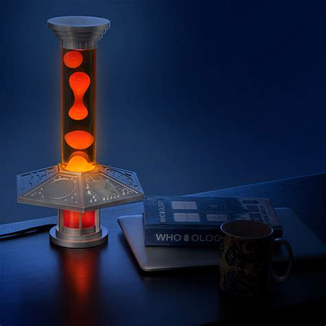Doctor Who Tardis Console Light Is A Lava L From Dr Who Lights