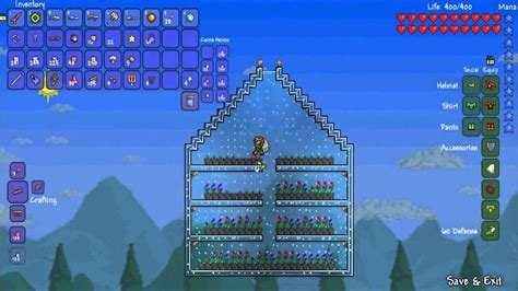 Terraria Gardening by Terraria Guide Planting Seeds And Growing Plants