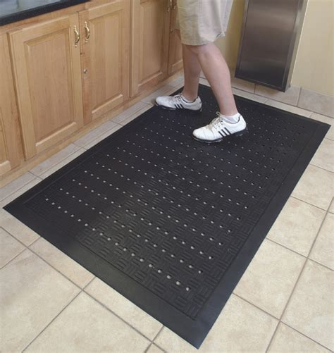 rubber kitchen floor mats comfort drainage kitchen mats are rubber kitchen mats by