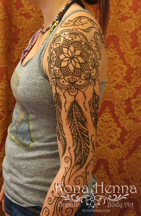 henna tattoo sleeve cost best 25 henna dreamcatcher ideas on henna