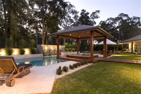 Pool Gazebo Backyard Tub Ideas For Installation And Landscaping
