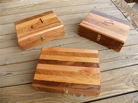 easy woodworking gifts handmade dovetailed box using four wood types by woodworking gifts custommade