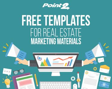 Free Templates For Real Estate Marketing Materials Point2 Agent Real Estate Marketing Blog Marketing Material Templates