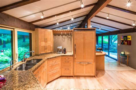 frank lloyd wright kitchen design frank lloyd wright inspired house modern kitchen cincinnati by codis inc photography