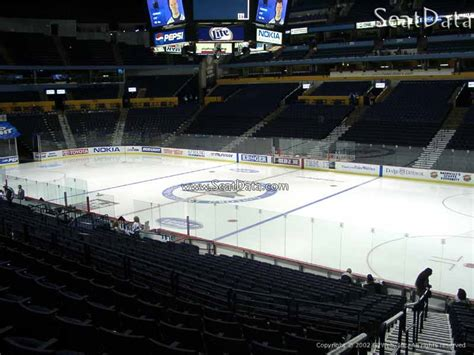 what is a section 117 nashville predators bridgestone arena section 117