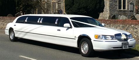 Wedding Car Limousine by East Anglian Limousines Limo Hire Norfolk Wedding Cars