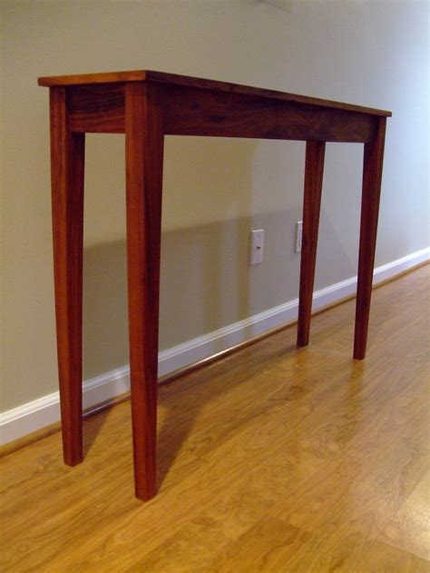Thin Entryway Table Entryway Narrow Tables Simple Home Decoration