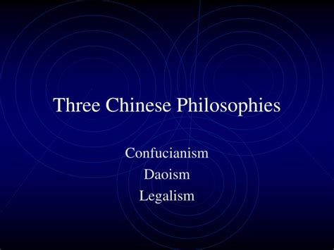 Confucianism Daoism And Legalism Essay by Comparative Essay On Confucianism And Legalism