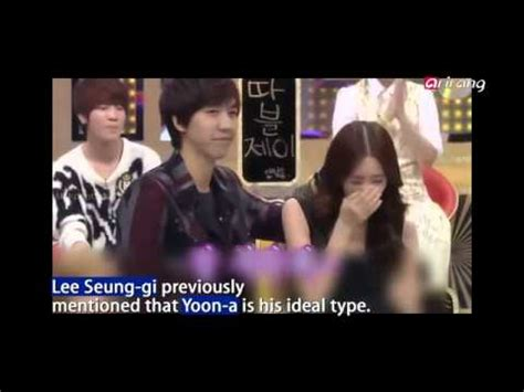 lee seung gi kiss yoona first couple 2014 lee seung gi snsd yoona youtube