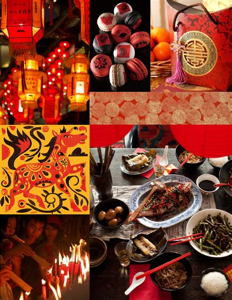 chinese new year moodboard