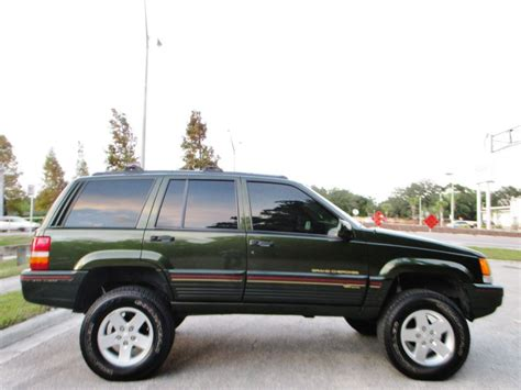 Jeep Limited 1995 1995 jeep grand orvis limited edition 4x4 for sale